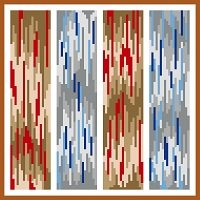 6236 Abstract Needlepoint Canvas