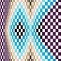 6256 Optical Geometric Needlepoint Canvas