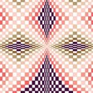6255 Optical Geometric Needlepoint Canvas