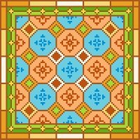 6270 Geometric Needlepoint Canvas