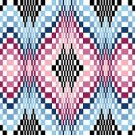 6262 Optical Geometric Needlepoint Canvas