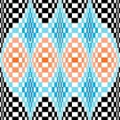 6259 Optical Geometric Needlepoint Canvas