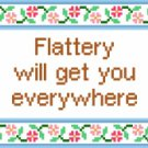 6118 Sayings Needlepoint Canvas