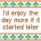 6119 Sayings Needlepoint Canvas