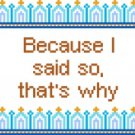 6120 Sayings Needlepoint Canvas