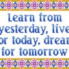 6161 Sayings Needlepoint Canvas
