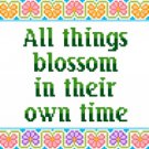 6162 Sayings Needlepoint Canvas
