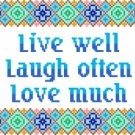 6164 Sayings Needlepoint Canvas