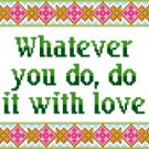 6165 Sayings Needlepoint Canvas