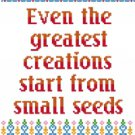 6166 Sayings Needlepoint Canvas