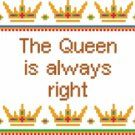 6141 Queen Needlepoint Canvas