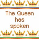 6143 Queen Needlepoint Canvas