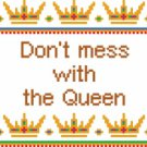 6144 Queen Needlepoint Canvas