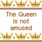 6145 Queen Needlepoint Canvas