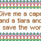6199 Sayings Needlepoint Canvas