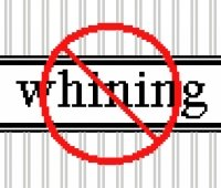 6180 No Whining Needlepoint Canvas