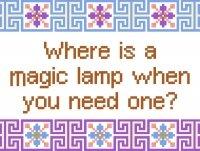 6201 Sayings Needlepoint Canvas