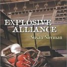 Explosive Alliance (First Responders) by Sleeman Susan