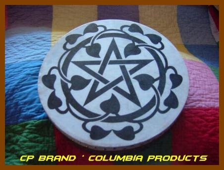 """Bodhran Printed 16"""" Size With Beater"""