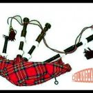Scottish Bagpipe Rosewood Black