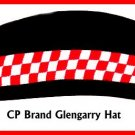 CP Brand Irish - Scottish Glengarry Hat Red/White Dice - Free Shipping