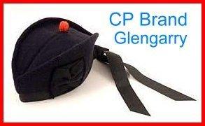 CP Brand Irish - Scottish Glengarry Hat With NO Dice/Badge - Free Shipping