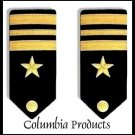 CP Brand NEW US NAVY HARD Shoulder Boards FOR LT. COMMANDER Rank - Columbia Products
