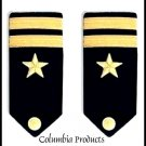 CP Brand NEW US NAVY HARD Shoulder Boards FOR LIEUTENANT Rank - Columbia Products