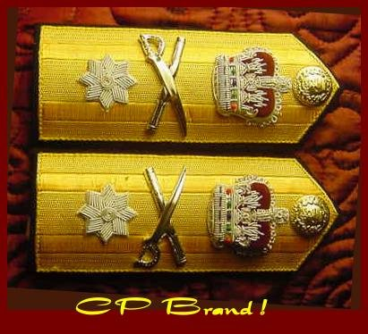 NEW UK ROYAL NAVY Hard Shoulder Board REAR ADMIRAL Old Rank - ONE STAR - CP BRAND By COLUMBIA