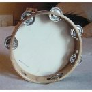 Church TAMBOURINES Size 8 Inch CP Brand New Single Row