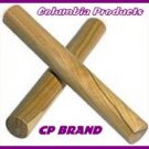 BEST WOODEN CLAVES * BRAND NEW *CP Brand In Carry Pouch