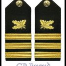 NEW US NAVY HARD Shoulder Boards COMMANDER Supply Corp
