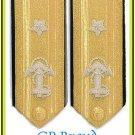 US NAVY HARD Shoulder Boards ADMIRAL 1 Star Lower Deck