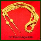 NEW CP Brand GOLD AIGUILLETTE, BRITISH OFFICERS NEW !!