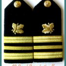 US NAVY HARD Shoulder Boards LT. COMMANDER Supply Corp