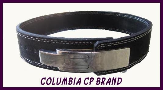 "CP BRAND POWER LIFTING LEVER BELTS 2.5""  BLK FREE SHIP"