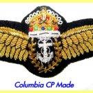 ROYAL NAVY FLEET AIR ARM BULLION WIRE PILOTS WING KING CROWN SHIP WORLDWIDE