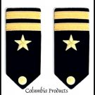 CP BRAND NEW US NAVY HARD Shoulder Boards LIEUTENANT JG Rank - 1st Quality