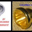TWO (2) TUBA MOUTH PIECES GOLD & SILVER COLUMBIA Brand 18 SP GP FREE SHIP in USA