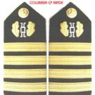 NEW US NAVY HARD Shoulder Boards CAPTAIN Judge Advocate Branch - CP MADE