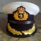 CUNARD QUEEN MARY 2 SHIP CAPTAIN WHITE NEW HAT Sizes, 57, 58, 59, 60, HI Quality
