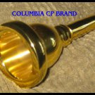TUBA MOUTH PIECE GOLD COLUMBIA Brand 18 GP FREE SHIP - Excellent Quality & Fit