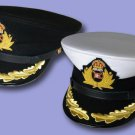 WHITE STAR CRUISE SHIP TITANIC CAPTAIN SMITH HAT FIRST CLASS COURTESY TOWEL SET