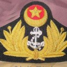 PAKISTAN NAVY OFFICER HAT CAP HILAL STAR BADGE NEW - FREE SHIP IN USA
