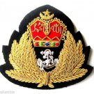 MALAYSIA NAVY OFFICER HAT CAP BADGE NEW HAND EMBROIDERED CP MADE