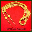 NEW GOLD AIGUILLETTE, BRITISH OFFICERS HIGH QUALITY 2015 STOCK CP BRAND NEW