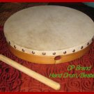 "HAND DRUM CP Brand New 12"" Size With Beater Free Ship in USA. Best Sound CP MADE"
