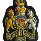 UK COAT OF ARM BADGES NEW SILK HAND EMBROIDERED CP MADE - EXCELLENT QUALITY