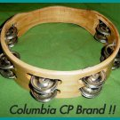"CP TAMBOURINES Double Row Jingles HEADLESS 8"" Size - Free Ship USA - CP MADE"
