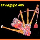 NEW MINI SCOTTISH TOY BAGPIPE CP BRAND PLAYABLE BEGINNER & CHILDREN BEST GIFT